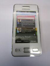 Samsung Star 2 II Gt-s5260 S-5260 Ceramic White Dummy Kids Toy Mobile Joke Phone