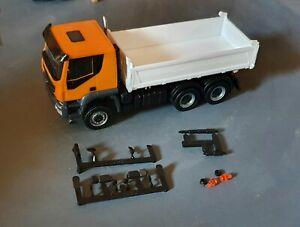 1/87 HO scale trucks Iveco Rigid Tipper Truck