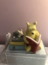 Winnie The Pooh Reading To Piglet Nightlight Lamp
