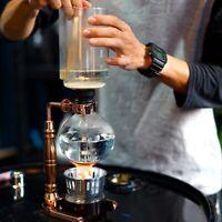 Japanese Style Siphon Coffee Maker Tea Siphon Pot Vacuum Coffeemaker Glass  J2C9