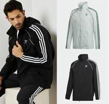 Adidas Originals 3-Streifen Superstar Windbreaker Kapuzen Jacke Windjacke NEU