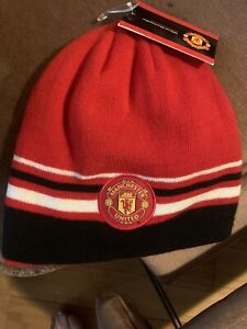 Manchester United Beanie - Official Merchandise One Size Fits All. New With Tags