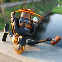 Spinning FishingReel 12+1BB Bearing Balls 500-9000 Series Metal Fishing Wheel №Y