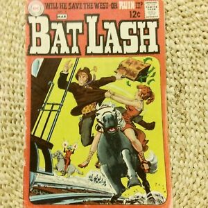 BAT LASH COMIC #3 FEB-MAR 1969 WILL HE SAVE THE WEST OR RUIN IT, GREAT CONDITION