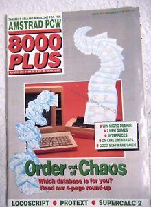 75360 Issue 39 Amstrad PCW 8000 Plus Magazine 1989