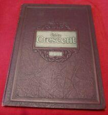 VINTAGE 1930 MINERVA OHIO YEARBOOK THE CRESCENT EXCELLENT CONDITION