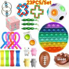 23 Pack Fidget Toys Set Sensory Tools Bundle Stress Relief Hand Toys Kids Adults