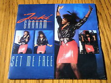 "JAKI GRAHAM - SET ME FREE   7"" VINYL PS"