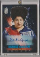 Doctor Who Timeless Blue Parallel Autograph Trading Card Debbie Chazen 33/50
