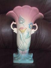 Vintage Original Hull Art Pottery Bow Knot B - 8-8 1/2 Vase. Beautiful! Look!