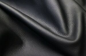 Grade AA Black Cowhide Full Grain Real Leather for Designer Jacket & accessories