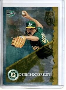 1995 SCORE DENNIS ECKERSLEY HALL OF GOLD