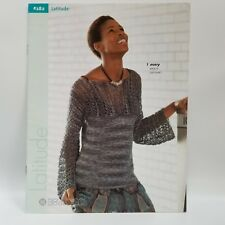 Latitude #282 Berroco 2008 Knitting Pattern Booklet 8 Classic Patterns Retired
