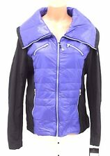 Halifax Traders Womens Softshell Down Jacket Purple Black Size XL