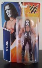 WWE WWF Mattel Basic Series 55 Sting Wrestling Action Figure MOC New