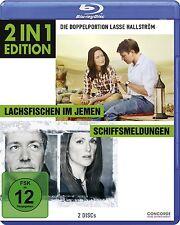 LACHSFISCHEN IM JEMEN (Ewan McGregor) + SCHIFFSMELDUNGEN (Kevin Spacey) Blu-ray