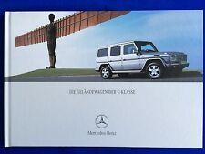 Prospekt Brochure Mercedes G-Modell G-Klasse W463 G270 G400 CDI G500 G55 AMG 04