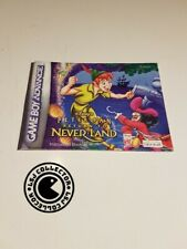Peter pan - gameboy advance - notice