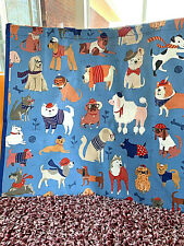 NEW TJMaxx Dressed Dogs Many Breeds Shopping Bag Reusable Tote Bag