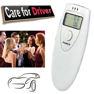 Alcohol Breathalyzer Analyzer Digital Alcohol Detection Interlock Breath Tester