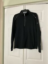 Nike Golf Half Zip Cover Up 1/2 Zip Pullover Mens Black Size Med. M