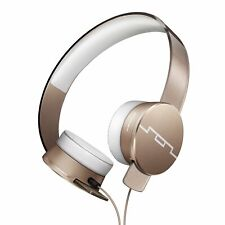 NEW Sol Republic HD2 Noise Cancelling GLD Headphones for Smartphones w/mic