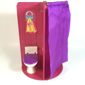 Barbie Sisters Go Camping Replacement Shower Bathroom Bike Carrier Panel