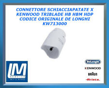 CONNETTORE SCHIACCIAPATATE X KENWOOD TRIBLADE HB HBM HDP KW713000 DE LONGHI ORIG
