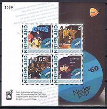 Nederland 2791-F-1 Nederpop '60 CD met blok van 4 zegels Nederlandse popmuziek