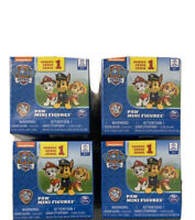 4 Sealed Paw Patrol Ultimate Rescue Series 1 Mini Figures Mystery Blind Boxes