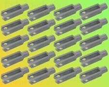 20 x Gabelkopf 8x32 DIN 71752 - M8 - verzinkt - OHNE Zubehör - Gabelgelenk