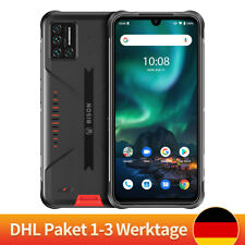 UMIDIGI BISON 6GB+128GB 5000mAh Outdoor Handy Robustes Smartphone Orange DHL