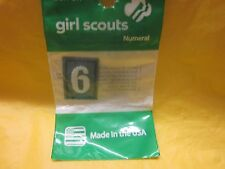 JUNIOR OR CADETTE GIRL SCOUTS NUMBER 6 or 9