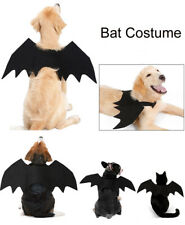 Pet Bats Halloween Costume For Small Medium Large Dog Cat Puppy Black Bat Wings