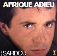 """Michel Sardou 7"""" Afrique Adieu - Label plastique - France (EX/EX)"""