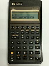 Vintage Calculatrice business Hewlett Packard HP-17B Calculator n°18