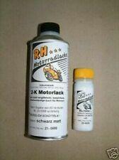 Honda CB 250 350 400 500 550 750 Four F2 Motorlack Set Farbe Motor schwarz matt