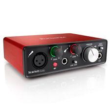 Focusrite Scarlett Solo  Audio Recording Interface 2nd Gen W/ Protools Compact