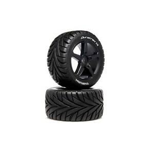 Duratrax 1/8 THRUSH Truggy Tire C2 Mounted 0 Offset (2)