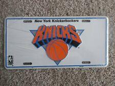 "Usa: "" New York Knickerbockers"" Kicks - Official number plate Nba Basketball"