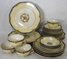 HAVILAND china LANGEAIS France 28-piece SET SERVICE for 4 fruit soup dinner cup