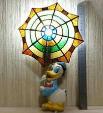 Wall Night Light Duckling Vintage Art Tiffany Style Stained Glass Vintage USSR