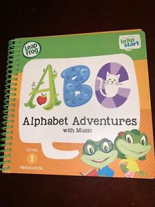 Leap Frog Leap Start Preschool Activity Book Alphabet Adventures Music