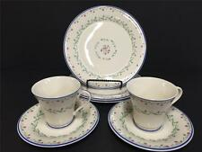 7 Pc Gorham Southern Charm 3 Salad Plate and 2 Cup & Saucer EUC!