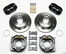 "1979-1993 Ford Mustang, Wilwood Dynapro Rear Parking Brake Kit - 11"" Rotors *"