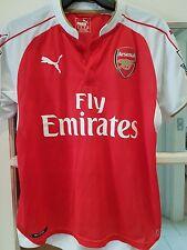 Arsenal Camisa de fútbol 2015-16 Hogar fútbol Jersey Niños Yth YXL 32/34 # 19 Lisa