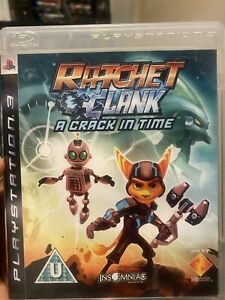 Ps3 Ratchet And Clank A Crack In Time Game