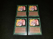 MTG 4x Revised green common MP German FBB Llanowar Elves ships w/ tracking