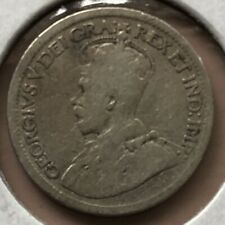 1916 ~ CANADA ~ 10 CENTS ~ GEORGE V ~ G6 Condition