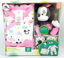 Disney Baby Minnie Mouse 5 Piece Gift Set Romper 12-18M New